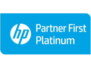 Hewlett Packard Partner First Platinum
